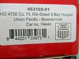 Intermountain # 453102-01 Union Pacific Bicentennial 4750' Rib-Sided Hopper (HO) image 5