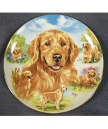 Heart Of Gold Collector Plate For The Love Of Goldens Linda Picken Bradf... - $21.95
