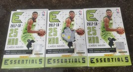 Lot Of Three 2017/2018 Panini Essentials Basketball Factory Sealed Hange... - $29.99