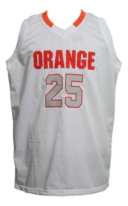 Rakeem christmas college basketball jersey white   1