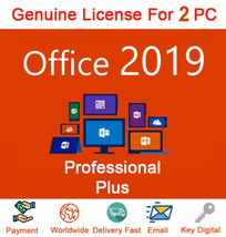 Microsoft Office 2019 Professional License Key NEW RELEASE Lifetime Key 2pc - $13.59