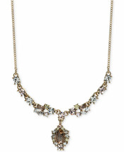 GIVENCHY Austrian Crystal Goldtone Y-Necklace NWT $68 - $33.50