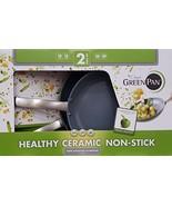GreenPan Hard Anodized Nonstick Ceramic Skillets 2-Pack - 10/12 - $83.06