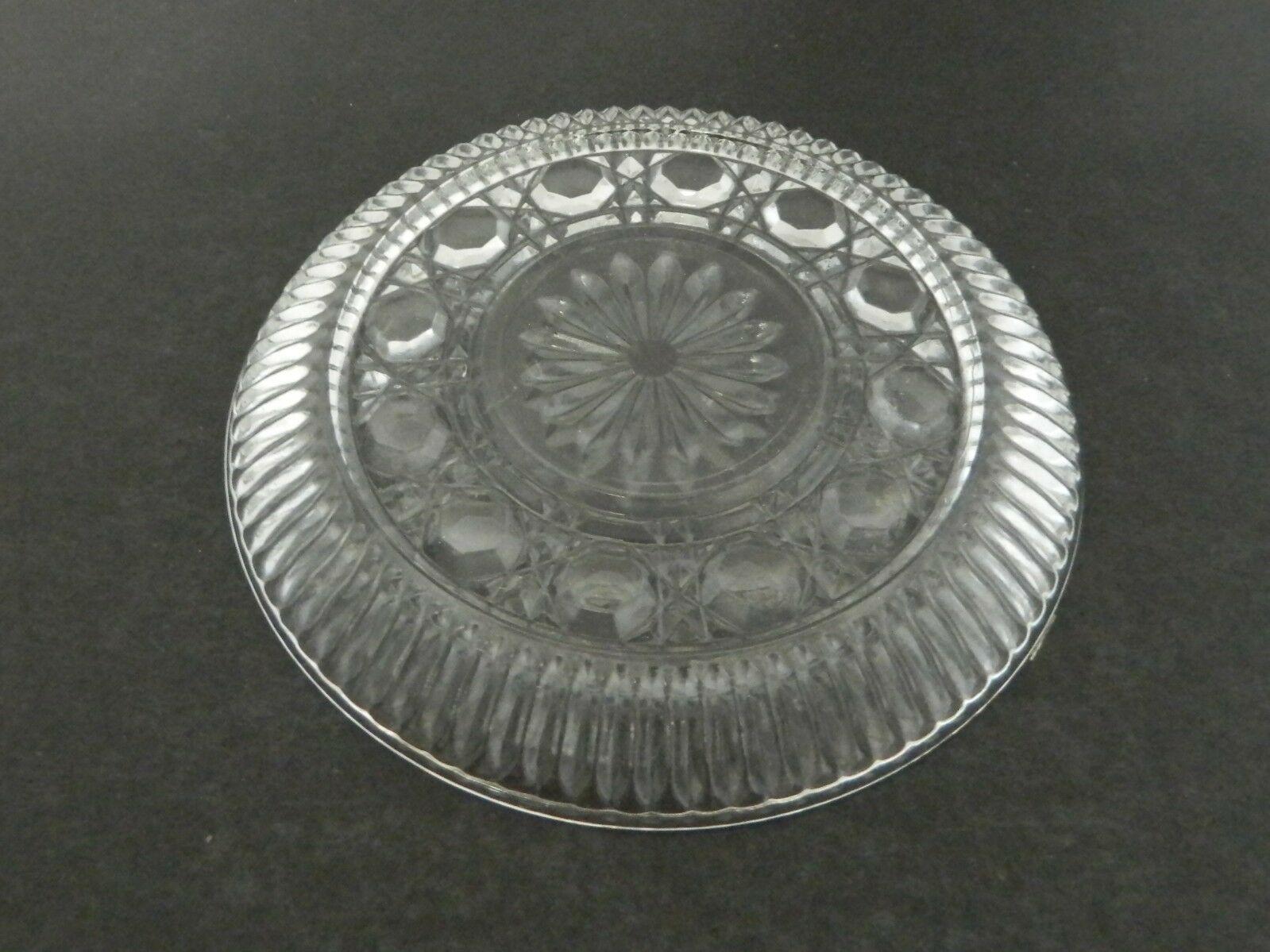 Royal Brighton Windsor Indiana Glass Bread / Dessert Plate  6 1/2 inch