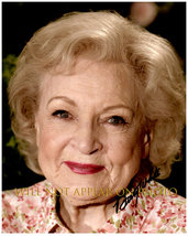 BETTY WHITE SIGNED AUTOGRAPHED 8X10 PHOTO w/ Certificate of Authenticity 1047 - $105.00