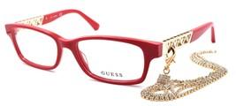 GUESS GU2785 066 Women's Eyeglasses Frames 52-16-140 Shiny Red - $44.82