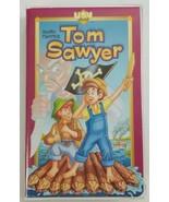 Tom Sawyer VHS Animated Cartoon of Mark Twains Classic 1991 UAV Entertai... - $14.01