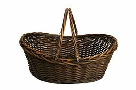 Wald Imports 1001-LG 19.5 in. Dark Willow Basket - $34.64