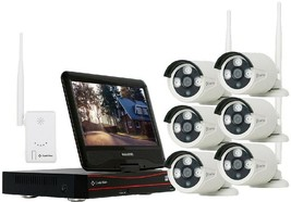 Security Surveillance Camera System Wireless 8-Channel 1080p 2MP 2TB Hard Drive - $735.87 CAD