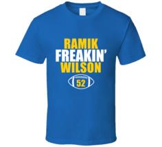 Ramik Freakin Wilson Los Angeles Football Fan T Shirt - $20.99+