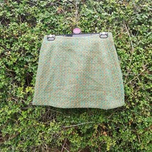 Miss Selfridge Size UK 12 check green mini skirt. Definitely more of a s... - $19.93