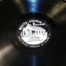 White Church Record # 1084 AA-191720B Vintage Collectible