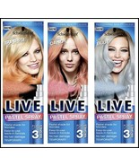 NEW Schwarzkopf LIVE Pastel Hair Spray For Up to 3 Washes Temporary hair... - $9.77