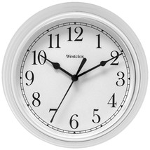 Westclox 46994A 9 Decorative Wall Clock (White) - $24.17