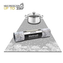 Hotrun Decorative Trivet and Kitchen Table Runners Handles Heat Up to 35... - $32.14