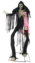 Animated Life Size 7 ft TOWERING BOOGEY MAN Halloween Prop  SEE VIDEO - €223,04 EUR
