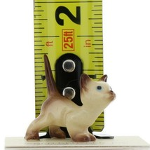 Hagen Renaker Miniature Cat Siamese Curious Kitty Ceramic Figurine image 2