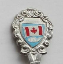Collector Souvenir Spoon Canada Ontario Lucan Biddulph Flag Beaver - $6.99