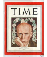 MAGAZINE TIME  Sinclair Lewis   OCTOBER 8  1945 - $19.79