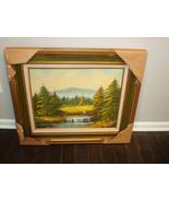 Urte Original Landscape Painting Signed - $575.00