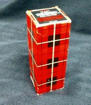 Vintage Avon Perfume - Plaid Thermos Decanter 3 Fl Oz - New in Box - $19.95