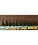 N Scale MODEL RAILROAD PINE TREES // 10 - 2 Inch Tall Trees /// FREE SHI... - $24.00