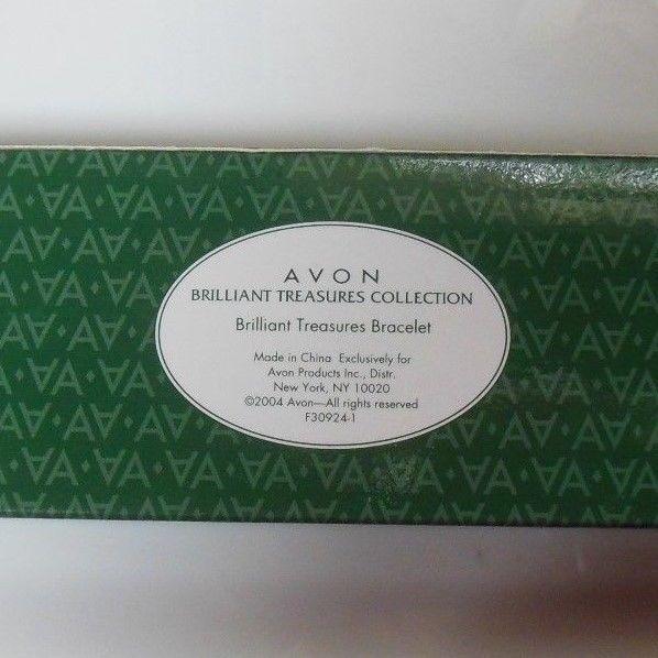 Avon President's Club Tribute Rose Circle Brilliant Treasures Bracelet 2004