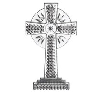 """Waterford Crystal Standing Cross Large Ornament 4.8"""" 2020 New In Box # 1... - $113.85"""
