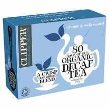 Clipper Organic Naturally Decaffeinated Tea Bags 80 per pack - $12.30
