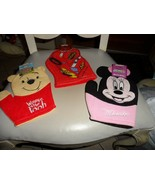 Set of 3 Disney Bath Mitt Puppets - Pixar Cars, Winnie the Pooh, Minnie ... - $12.00