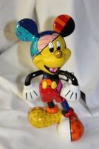 Romero Britto Disney Traditions Mickey Mouse Po... - $55.75