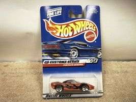 L37 Mattel Hot Wheels 26035 Pontiac Banshee Customs Series New On Card - $3.49