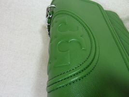 NWT Tory Burch Watercress Green Leather Fleming Convertible Shoulder Bag image 7