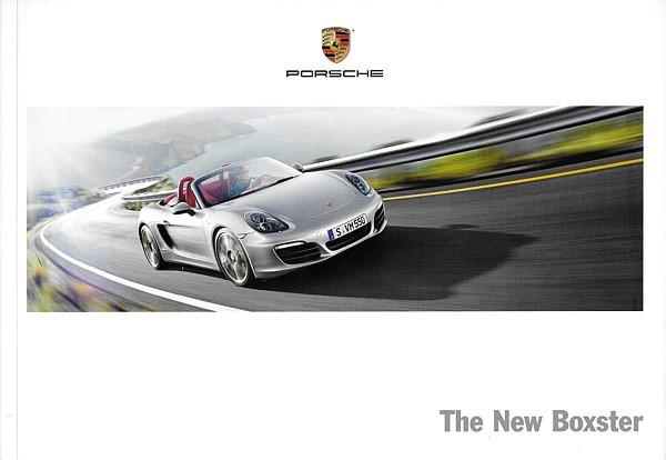Primary image for 2013 Porsche BOXSTER sales brochure catalog US 13 S 981