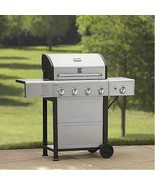 BNIB (stock pic) Kenmore 4-Burner Gas Grill w/ Side Burner, Model # PG-4... - $222.75