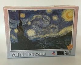 "Vincent van Gogh ""The Starry Night"" 1000 Piece Mini Jigsaw Puzzle - $7.70"