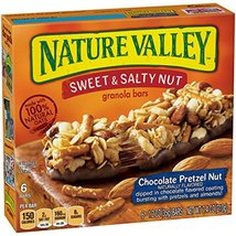 Nature Valley Granola Bars, Sweet and Salty Nut, Chocolate Pretzel Nut, ... - $9.82