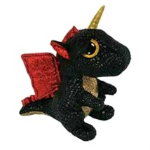 "Pyoopeo Original Ty Boos 6"" 15cm Grindal the Dragon with Horn Plush Regu... - $19.70"