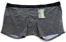 Jockey Performance Black & Gray Print Stretch Boxer Brief Underwear Men'... - $22.49