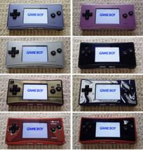 【8 Tipos 】 Usado Nintendo Game Boy Micro Consola Japón - $142.19+