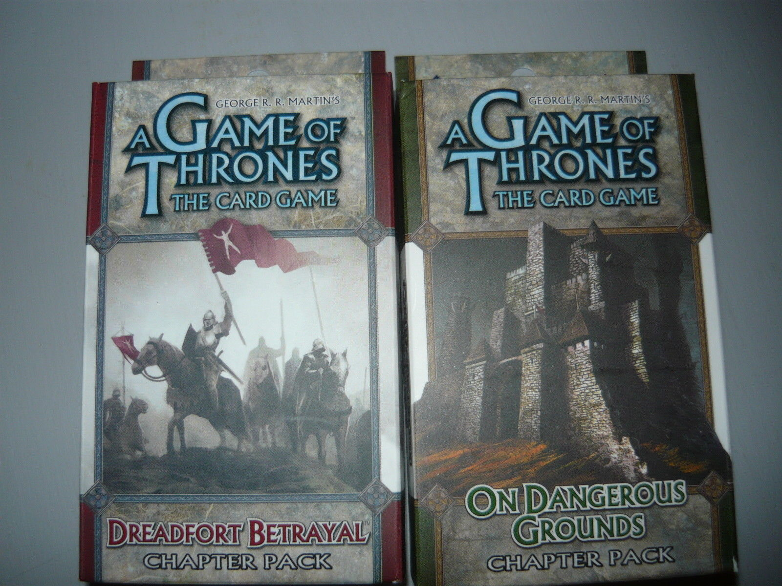 A Game of Thrones chapter pack lot of 2 on dangerous ground dreadfort betrayal