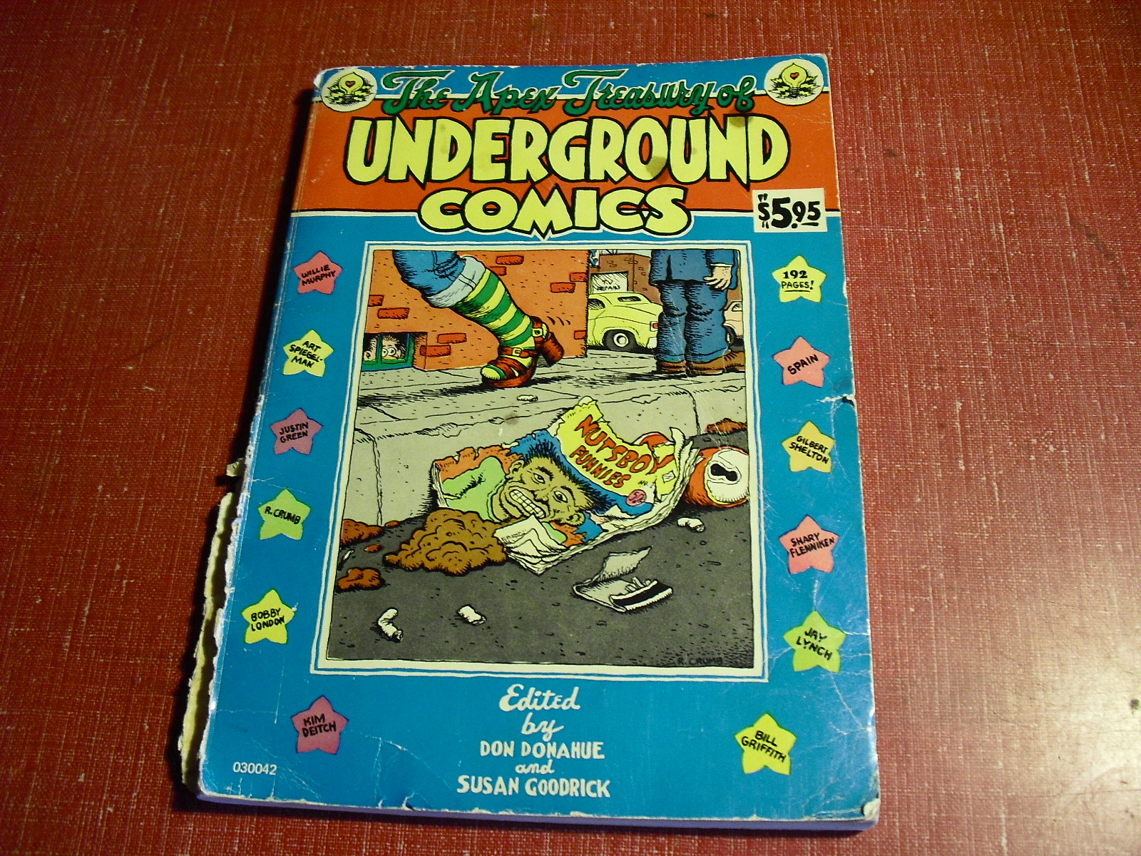 underground  comics  the  apex  treasury  vintage  1974