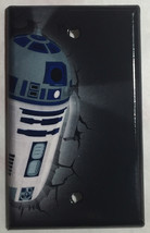 Star Wars R2D2 R2-D2 Light Switch Power Outlet Wall Cover Plate Home Decor image 3