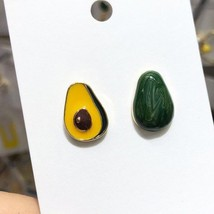 Edle avocado pendant women drop earrings trendy cute fruit summer charming brand female thumb200