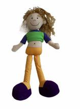 "Vtg Manhattan Toy Groovy Girls Plush Doll 2000 Blonde Cloth 8"" - $14.84"