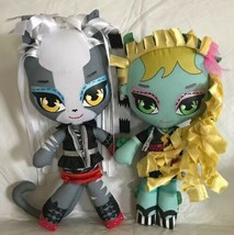 "Meowlody Monster High Werecat Plush 11"" Goth Horror Rag Doll Stuffed Laguna - $16.82"