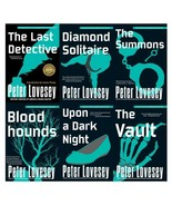 DETECTIVE PETER DIAMOND Mystery Series by Peter Lovesey LARGE Paperback ... - $75.99