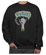 Big Rick! Sweater Sweatshirt BLACK - $30.00