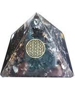 70mm Orgone Shungite & Flower pyramid - $49.00