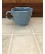 FIESTA Pale Blue / Periwinkle COFFEE Mini CUP HOMER LAUGHLIN FIESTAWARE - $16.82